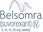 BELSOMRA® (suvorexant) C-IV 5, 10, 15, 20 mg tablets