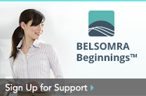 Sign Up for Support at belsomra.com